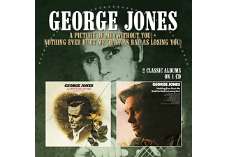 George Jones - A Picture Of Me (Without You)/Nothing Ever Hurt Me [CD]