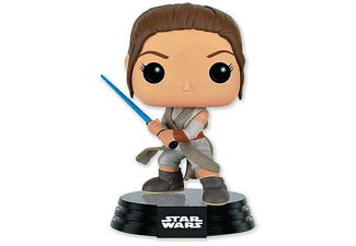 Star Wars Episode 7 Pop! Vinyl Wackelfigur Rey Kampfpose