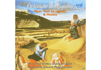 Edward/choir Of New College Oxford Higginbottom - Missa Tous Le Regretz'/Motetten - (CD)