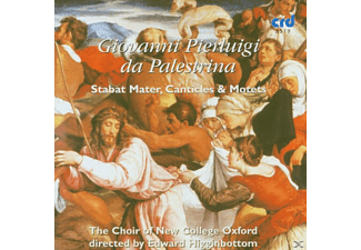 Edward/choir Of New College Oxford Higginbottom - Stabat Mater/Motetten - (CD)