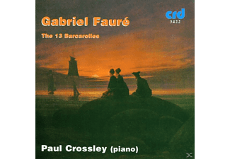 Paul Crossley - Faure Barcarolles - (CD)