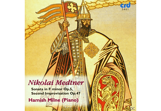 Hamish Milne - Medtner Piano Music Vol.4 - (CD)