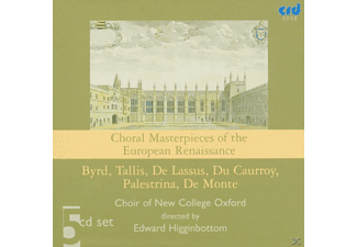 Edward/choir Of New College Oxford Higginbottom - Choral Masterpieces Of The European Renaissance - (CD)