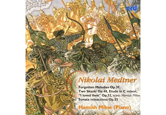 Hamish Milne - Medtner Piano Music Vol.6 - (CD)