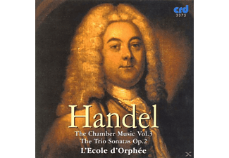 Ecoled Orphee, Ecole D'orphee - Händel Chamber Music Vol.3 - (CD)