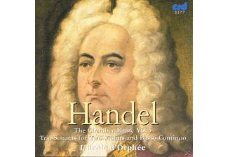 Ecoled Orphee, Ecole D'orphee - Händel Chamber Music Vol.5 - (CD)
