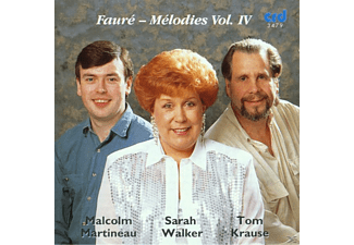 Krause, Walker Krause Martineau - Faure Melodies Vol.4 - (CD)