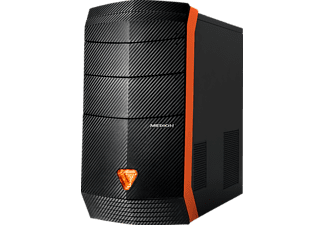 MEDION ERAZER® P5392 I, Gaming PC mit Core™ i7 Prozessor, 16 GB RAM, 256 GB SSD, 2 TB HDD, GeForce GTX 1070