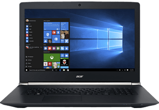 ACER VN7-792G-593V, Notebook mit 17.3 Zoll Display, Core i5 Prozessor, 8 GB RAM, 128 GB SSD, 1 TB HDD, GeForce 945M, Schwarz