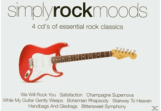 VARIOUS - Simply Rock Moods [CD]