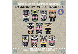 Little Edith Prese, Keb Darge - Legendary Wild Rockers 4 - (Vinyl)