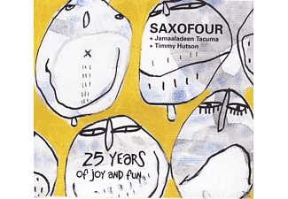 Saxofour - 25 years of joy and fun - (CD)