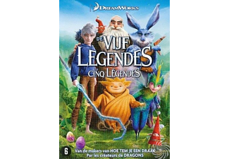 Vijf Legendes | DVD