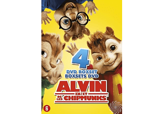 Alvin And The Chipmunks 1-4 | DVD