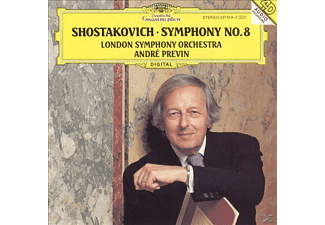 André Previn, London Symphony Orchestra - Sinfonie 8 - (CD)