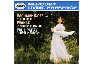 Detroit Symphony Orchestra, Paray Paul - Sinfonie 2/Sinfonie D-Moll - (CD)