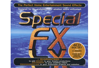 "VARIOUS - Special Fx ""sound Effects"" (4 Cd) - (CD)"