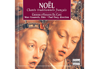Da Capo Children Choir, Marc Grauwels - Noel: Chants Traditionnels Francais - (CD)