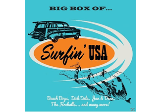 VARIOUS - Big Box Of Surfin USA [CD]