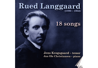 Krogsgaard,Jens/Christiansen,Jan Ole - 18 Lieder - (CD)