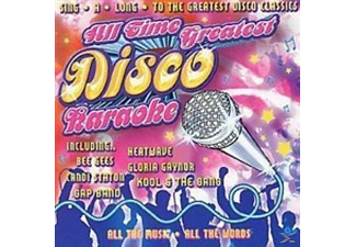 VARIOUS - All Time Greatest Disco Karaoke - (CD)