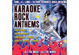 VARIOUS - Karaoke Rock Anthems - (CD)