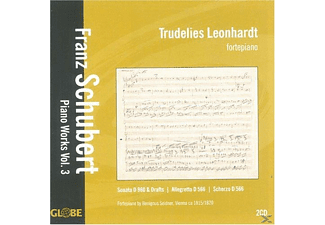 Trudelies Leonhardt - Piano Works Vol.3 [CD]