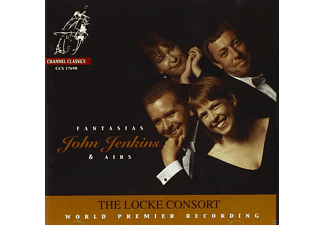 The Locke Consort, VARIOUS - Fantasias And Airs - (CD)