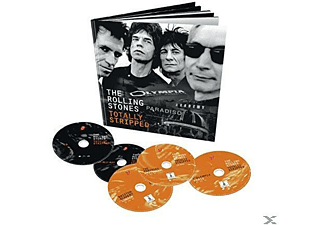 The Rolling Stones Totally Stripped CD + Blu-ray Disc