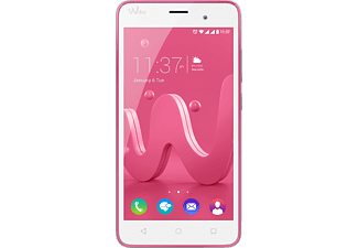WIKO Jerry, Smartphone, 16 GB, 5 Zoll, Pink/Silber