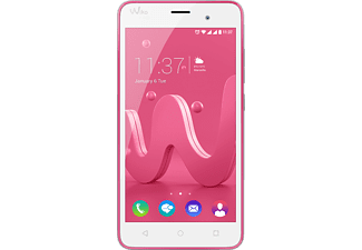 WIKO Jerry 16 GB Pink/Silber Dual SIM