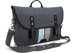 "TARGUS Geo 15.6"" Gibson Laptop Messenger Bag - Grey - (TSM68904EU)"