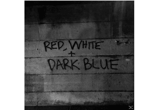 Dark Blue - Red/White - (Vinyl)