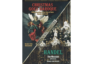 VARIOUS - Christmas Goes Baroque/Handel The Messiah - (DVD)