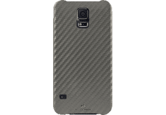 BLACK ROCK Flex-Carbon Case Cover Galaxy S5 Silber