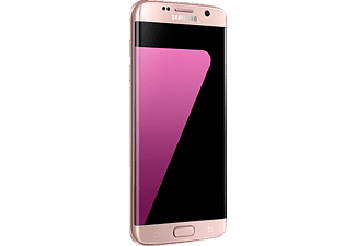 SAMSUNG Galaxy S7 edge, Smartphone, 32 GB, 5.49 Zoll, Pink/Gold, LTE