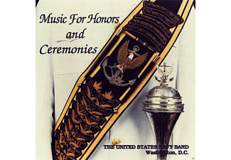 United States Navy Band - Music For Honors And Ceremonies - (CD)