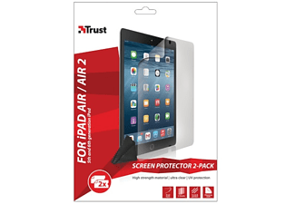 TRUST Screen Protector 2-Pack voor iPad Air / Air 2