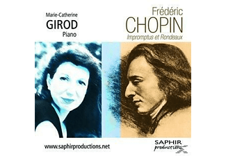 Marie-catherine Girod - Impromptus Et Rondeaux - (CD)