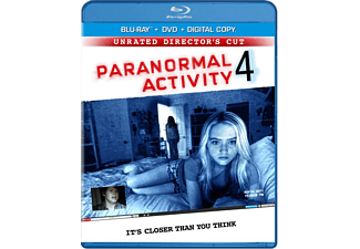Paranormal Activity 4 Skräck Blu-ray