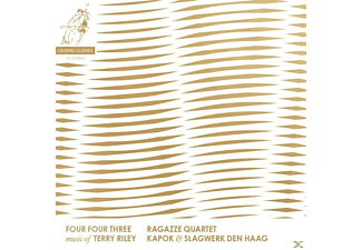 Ragazze Quartet/Slag - Four Four Three-Music Of Terry Riley - (CD)