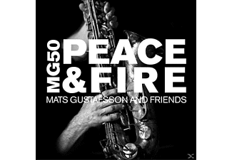 Mats Gustafsson & Friends - MG 50-Peace & Fire [CD]