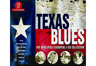 VARIOUS - Texas Blues-Absolutely Essential - (CD)