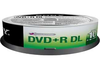SONY 10DPR85SP DVD+R DL, 10 db, hengeren