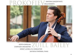 Zuill Bailey, North Carolina Symphony Orchestra, Natasha Paremski - Sinfonia concertante in e-moll/Cellosonate C-Dur - (CD)