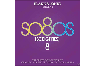 Blank & Jones - Blank & Jones Present: So80s (So Eighties) 8 [CD]