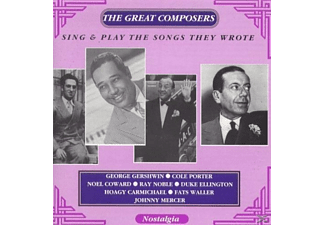 VARIOUS - Great Composers Sing & Play Thei - (CD)