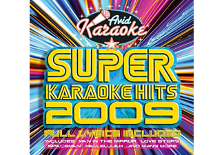 VARIOUS - Super Karaoke Hits 2009 - (CD)