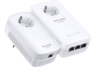 TP-LINK AV1200 Gigabit  Powerline ac WLAN KIT mit Steckdose WPA8630P KIT, Powerline