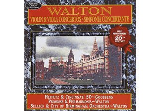 VARIOUS - Walton-Violin & Viola Concer - (CD)